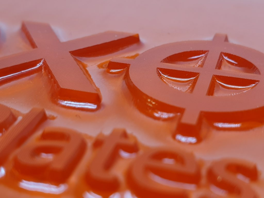 Flexo Stamps used for Pallets