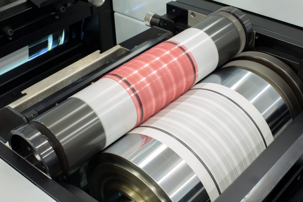 flexo printing with flexo plates from plate maker centurion graphics